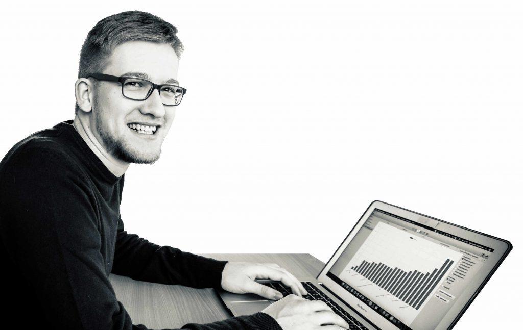 Christoph Kußnerus, Student an der HS Koblenz. Skills in SEO und SEA. Besonders in Google Ads und XOVI.